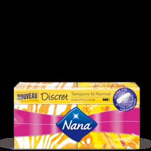 Tampons Nana Discret Normal