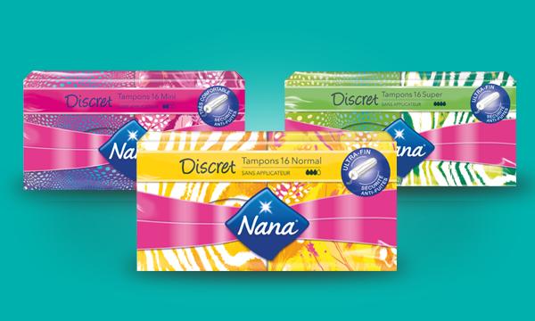 Découvrez toute la gamme Nana Discret