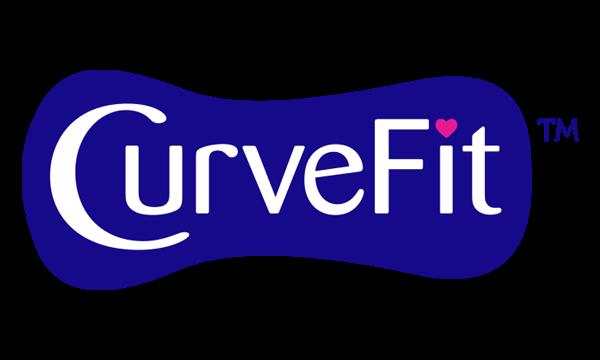 Icona CurveFit su sfondo grigio – Nuvenia